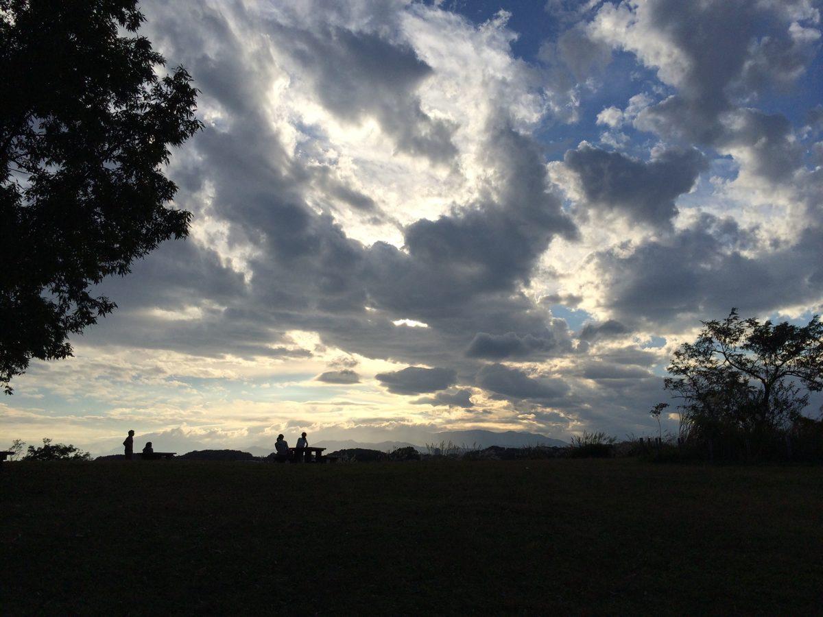 小山田緑地の空