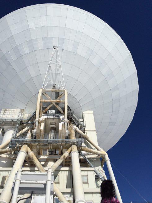 野辺山の電波望遠鏡