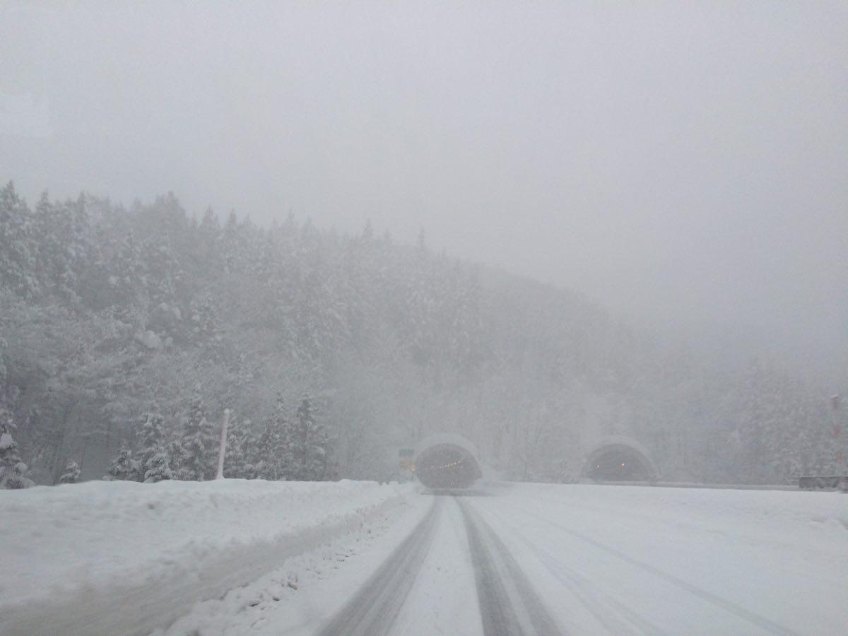 妙高杉ノ原へ向かう道