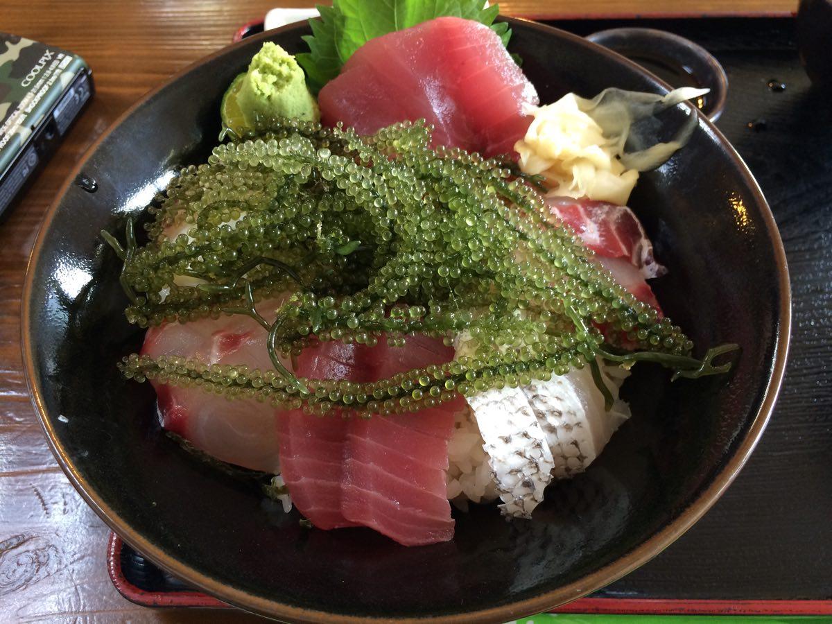 海ぶどう丼