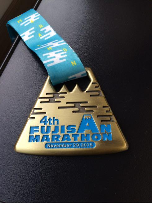 富士山マラソン完走メダル