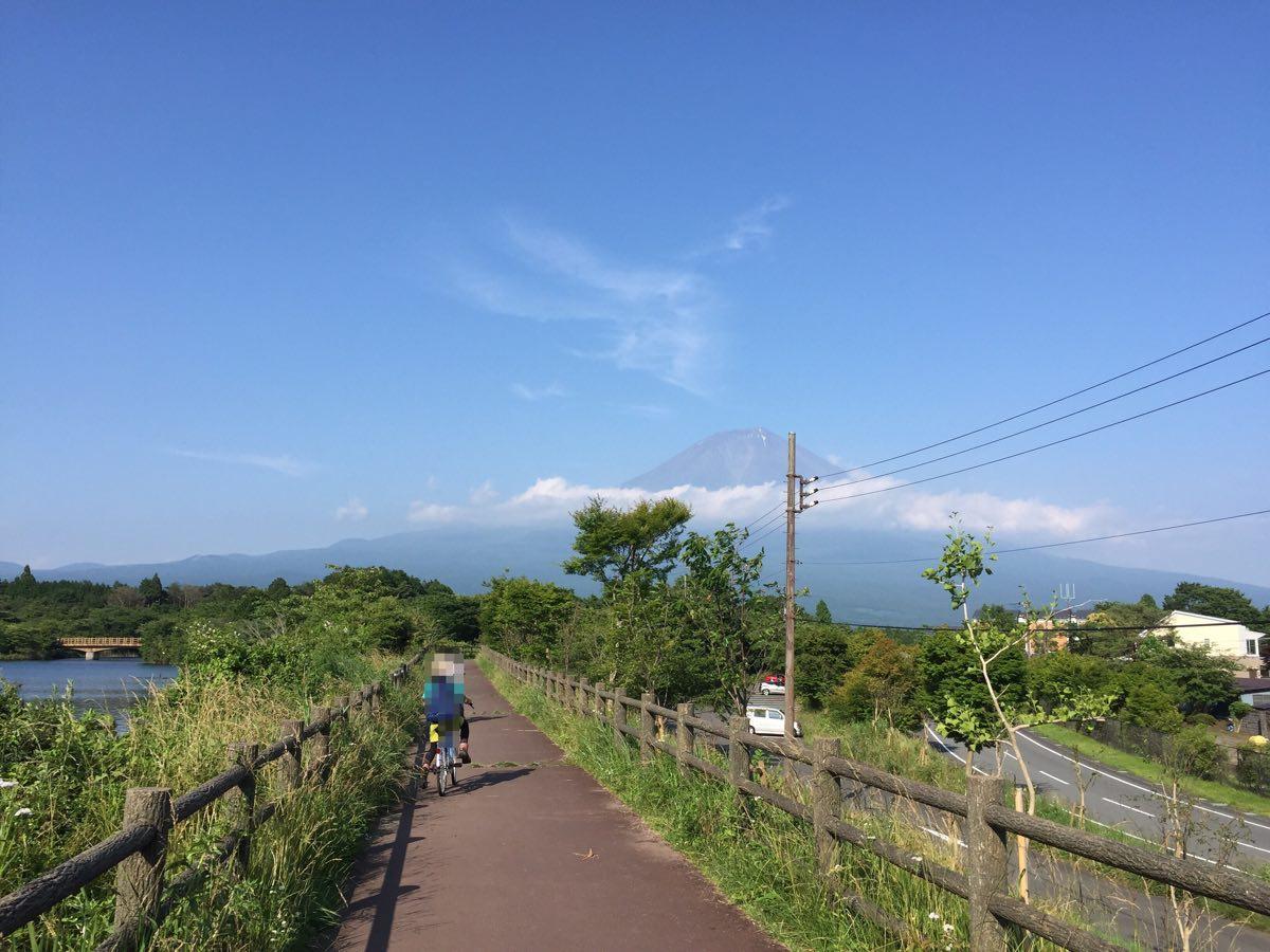 田貫湖のサイクリング