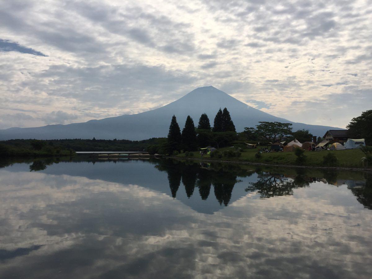田貫湖の逆さ富士