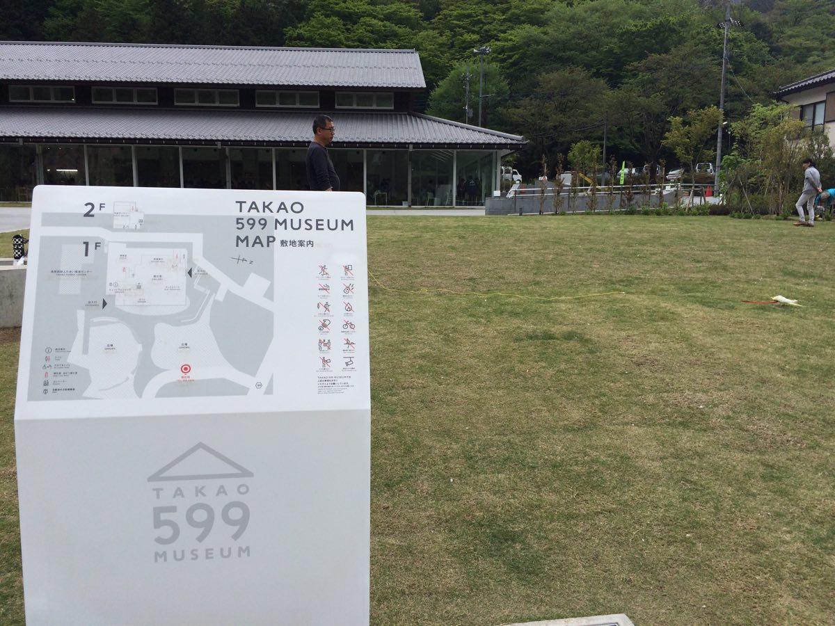 高尾山599ミュージアム看板