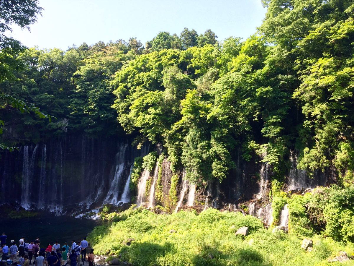 白糸の滝 富士宮