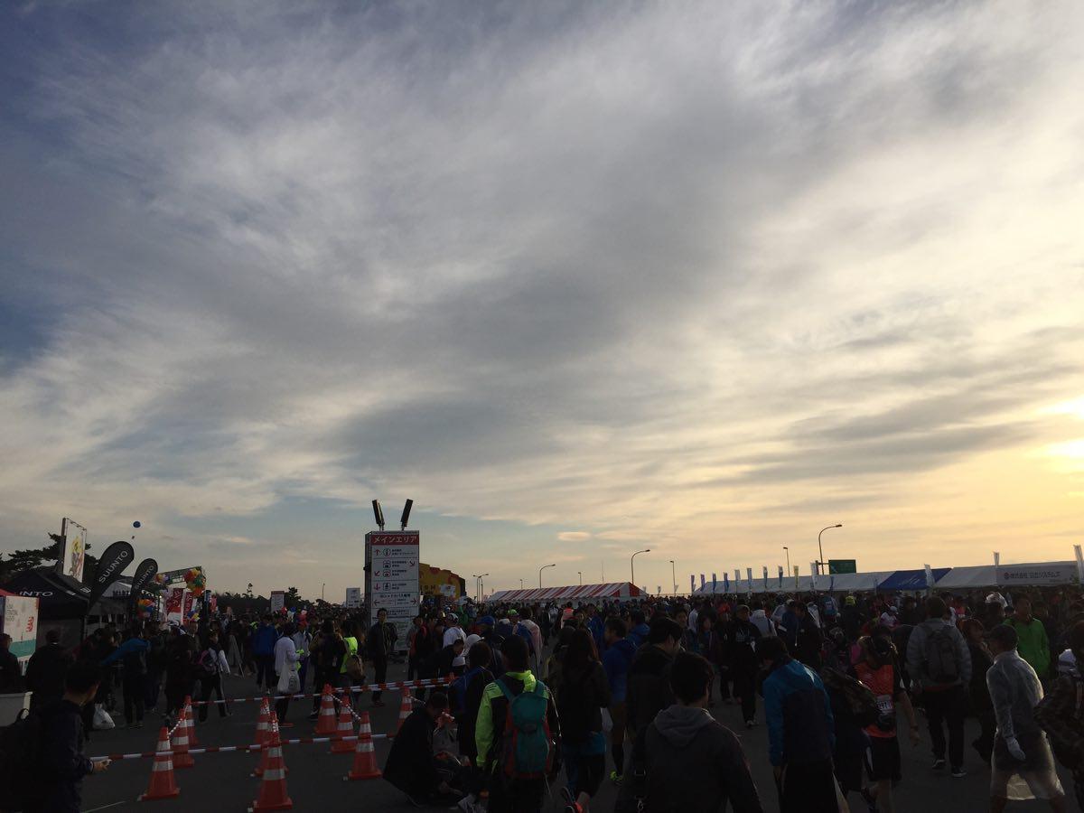 湘南国際マラソンの風景